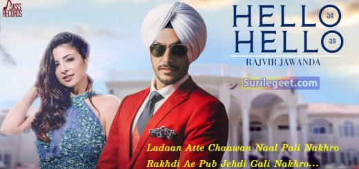 Hello Hello Lyrics Rajvir Jawanda