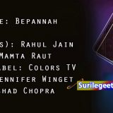 bepanah song lyrics